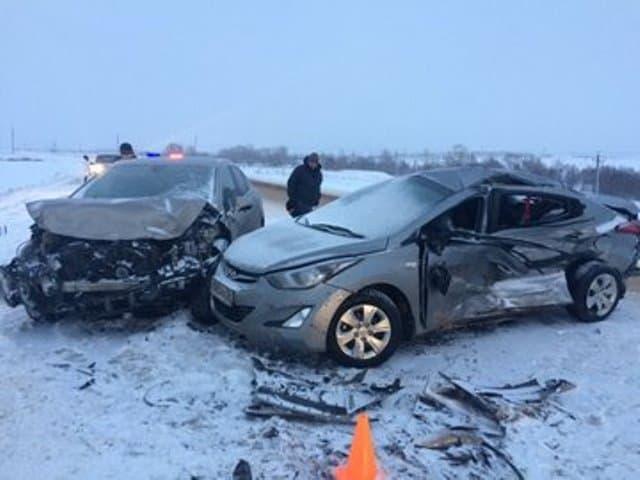 ВБашкирии встрашном ДТП пострадали трое детей