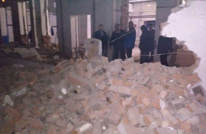 ВСтерлитамаке обвалился склад, есть раненые