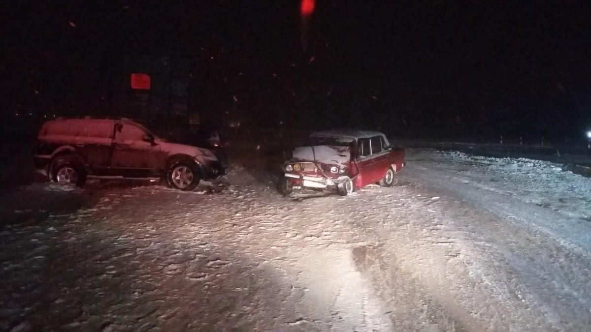 ВУфе 5 человек пострадали при столкновении ВАЗа и Грейт Уол