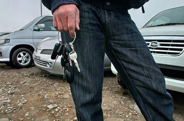 ВУфе найдена дорогая иностранная машина, угнанная изПетербурга