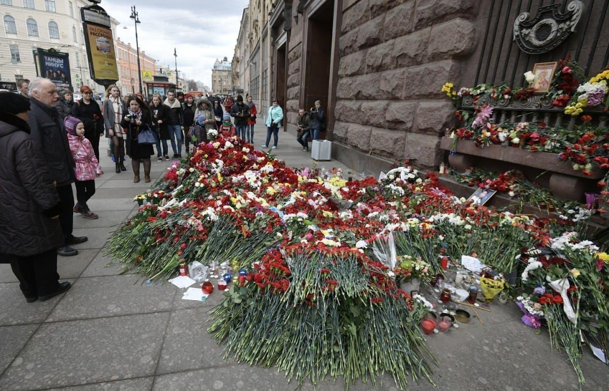 Появилось видео задержания организатора взрыва вПетербурге