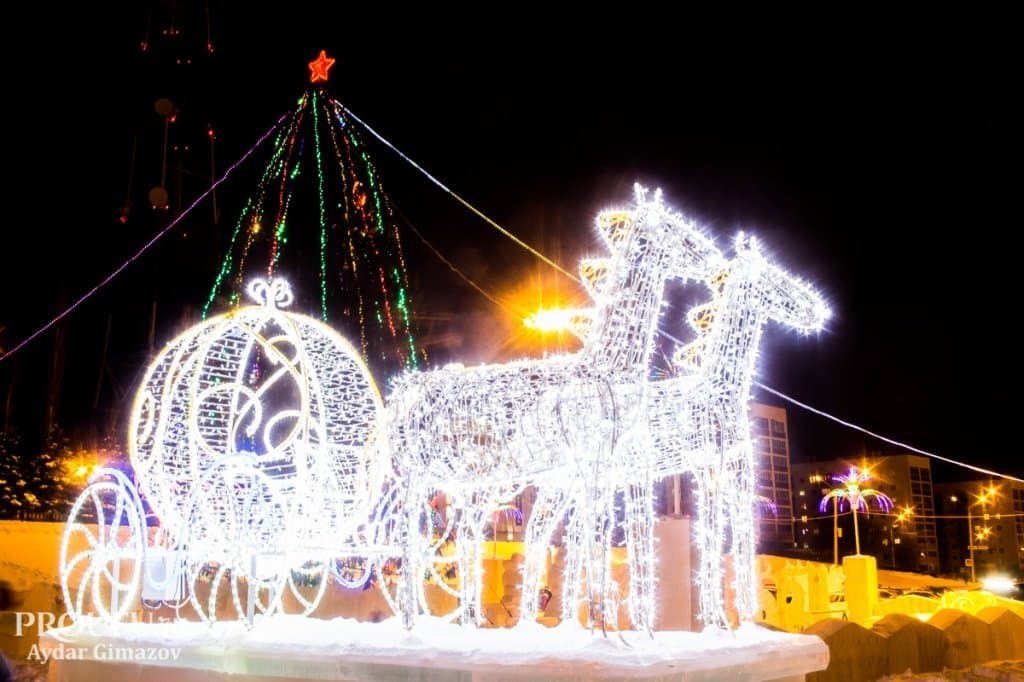 Предновогодняя неделя вКрасноярске будет теплой