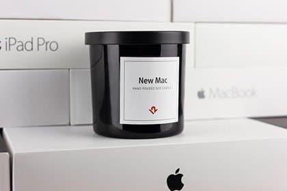 ВСША представили свечу сзапахом нового компьютера отApple