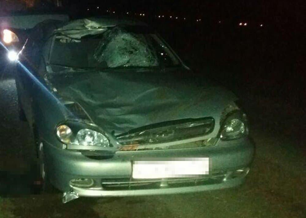 ВБашкирии ночью иностранная машина сбила неизвестного мужчину
