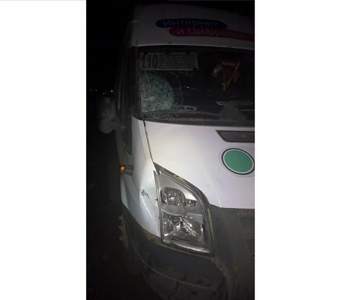 ВКалининском районе Уфы мужчина был насмерть сбит пассажирским микроавтобусом