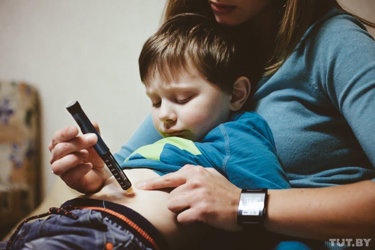 Ребенок от мужчины больного сахарным диабетом