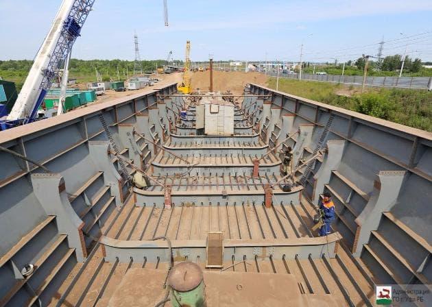 Открытие нового Затонского моста вУфе перенесено наоктябрь