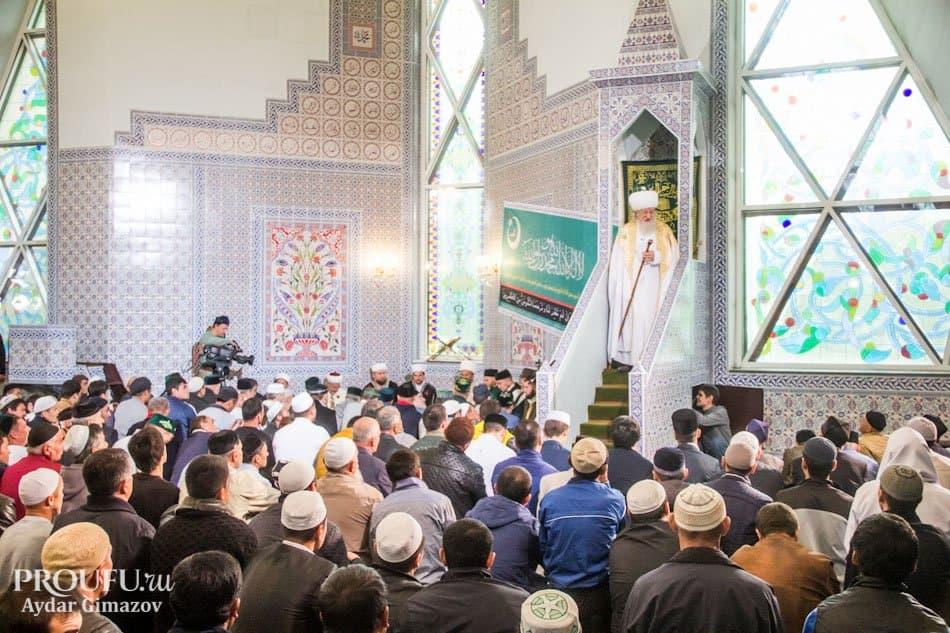 ВЧувашии мусульмане отмечают праздник жертвоприношения