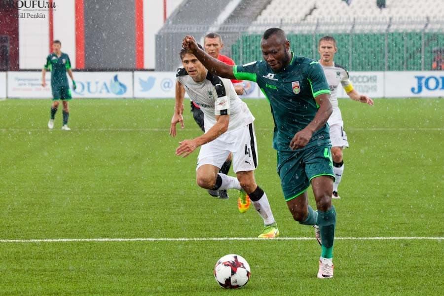 Футболист Сильвестр Игбун объявил, что хотелбы покинуть «Уфу»