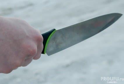 ВСтерлитамакском районе пьяная женщина вонзила нож вгрудь сыну