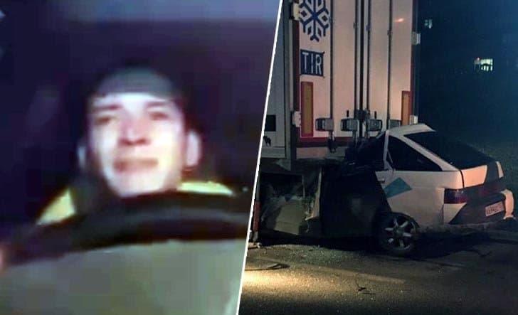 Полицейский изУфы снял свою смерть вДТП впрямом эфире Инстаграм
