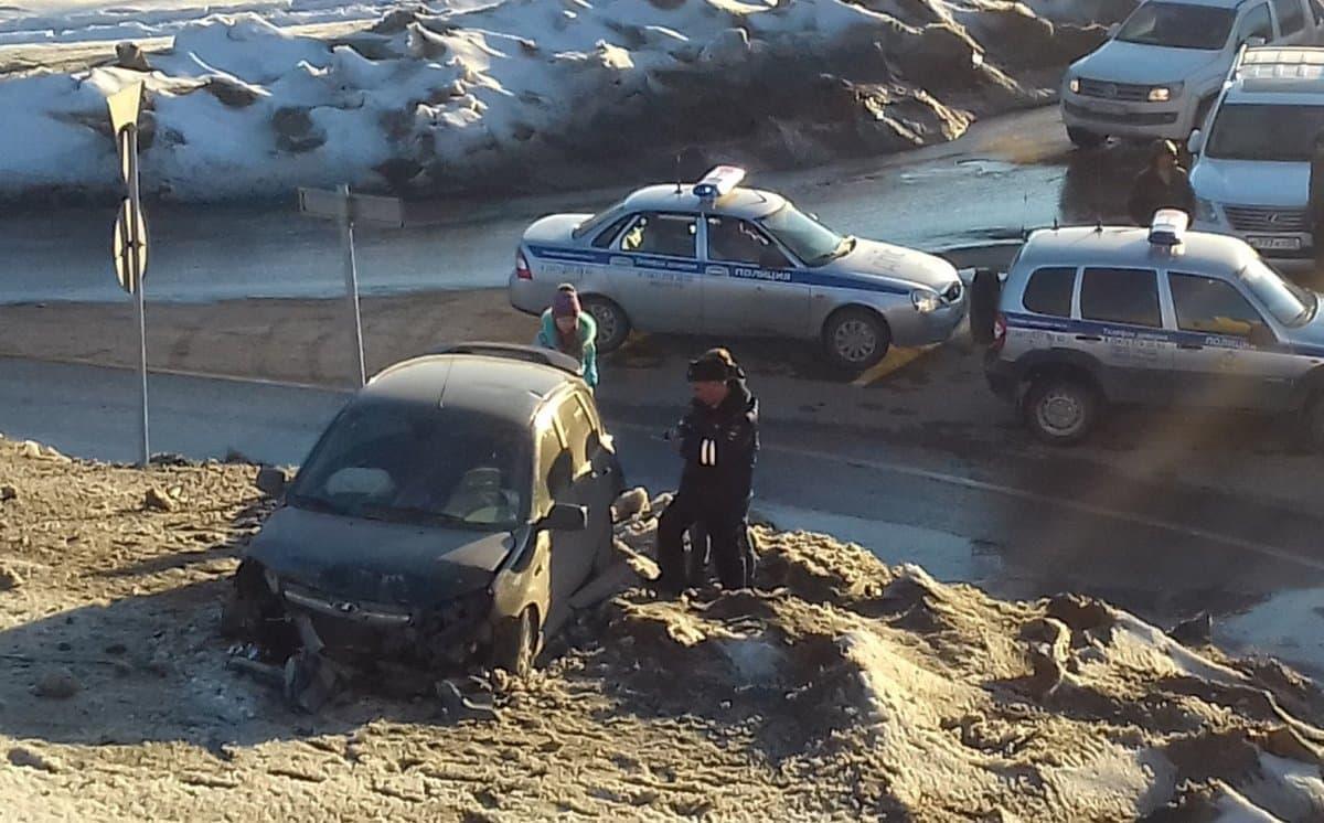 ВУфе на«салаватке» шофёр «Приоры» исчез сместа совершённого ДТП