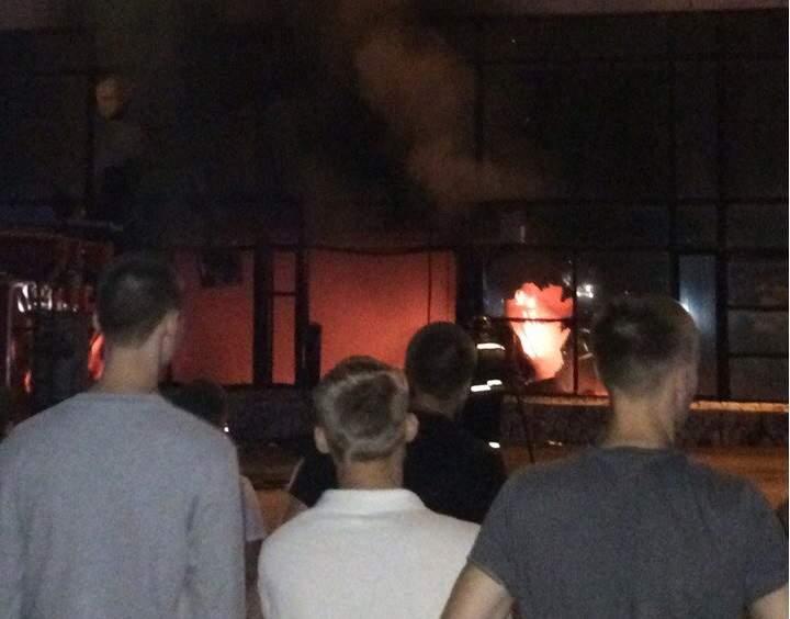 ВСтерлитамаке горел ТСК «Дом быта»