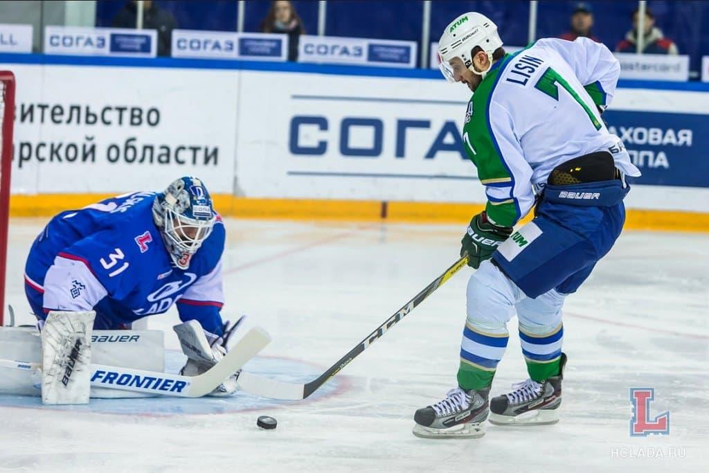 «Лада» одолела «Салават Юлаев» вматче чемпионата КХЛ