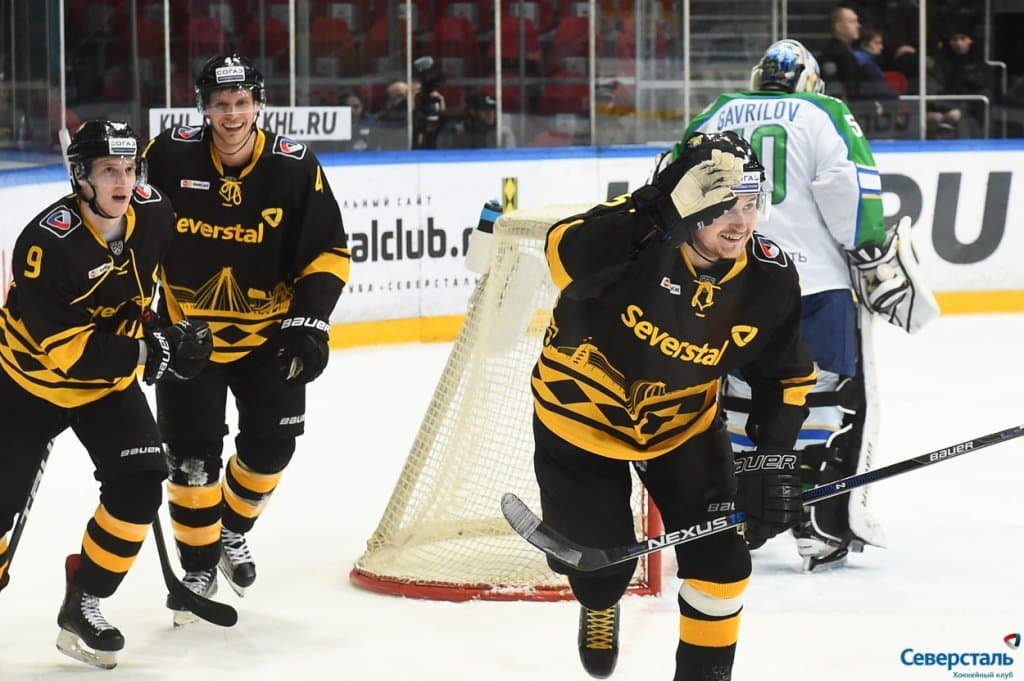 Северсталь— Салават Юлаев, прогноз на 29.01.2017. КХЛ