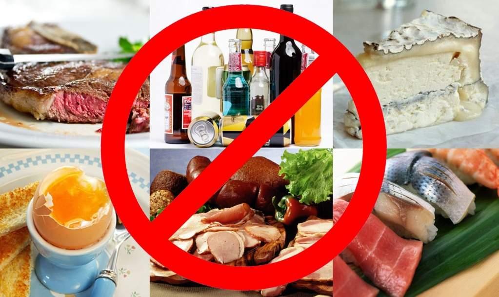 Продукты не рекомендуемые беременным 19