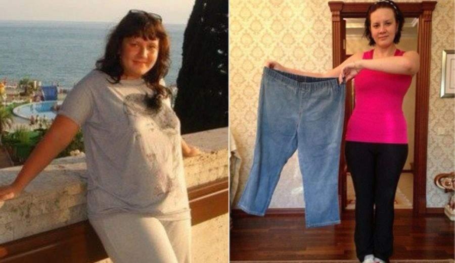 Как похудеть на 35 кг за полгода