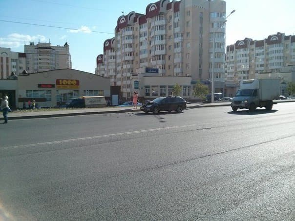 В Уфе произошло два ДТП с участием автобусов