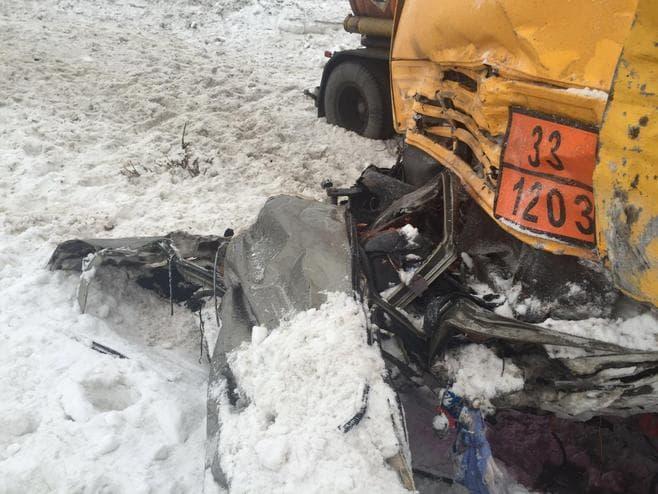 ВТатарстане вДТП сКамАЗом погибли 5 человек, включая малыша