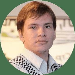 Денис Захаров - комментатор КХЛ ТВ