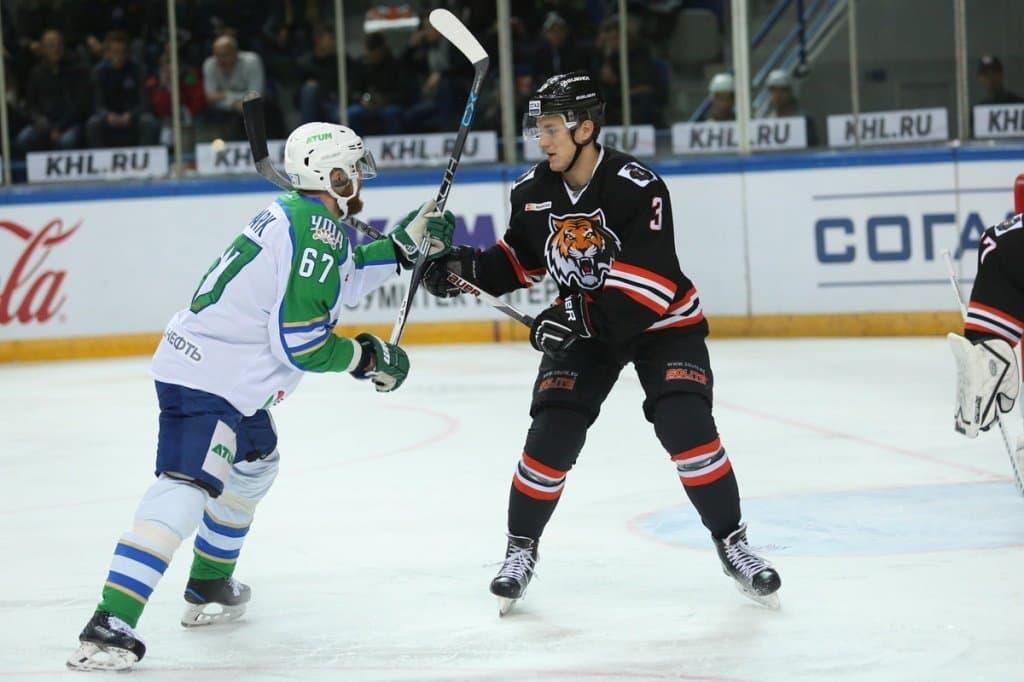 «Салават Юлаев» побуллитам обыграл «Амур» ввыездном матче чемпионата КХЛ