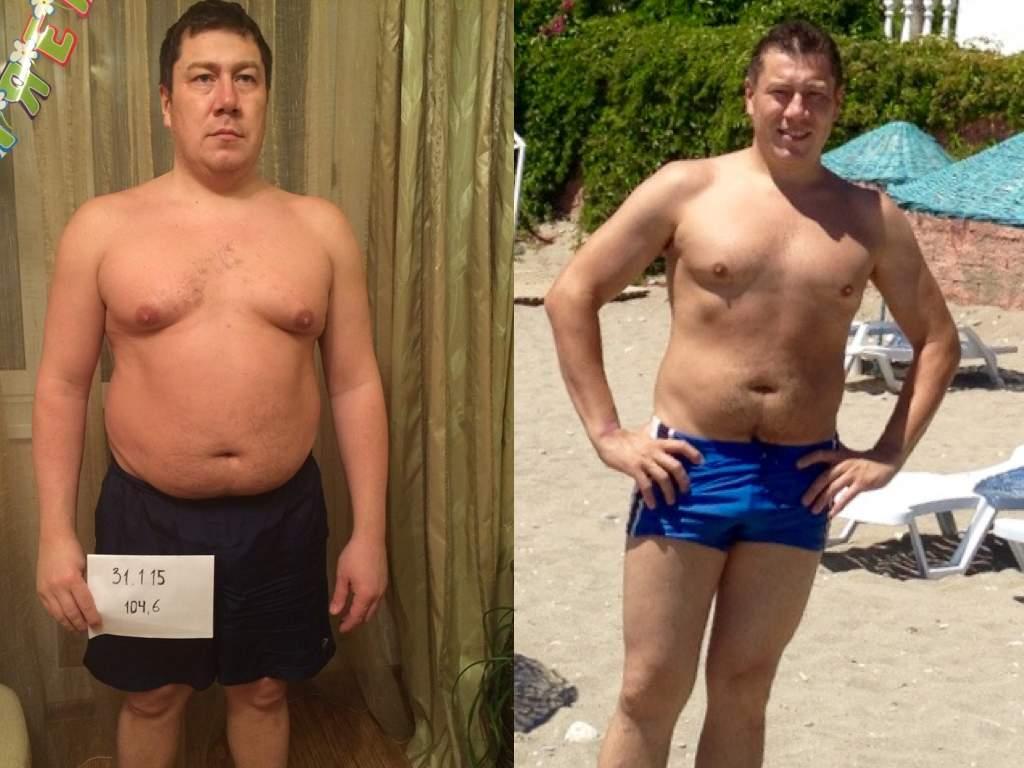 Как похудеть для парней