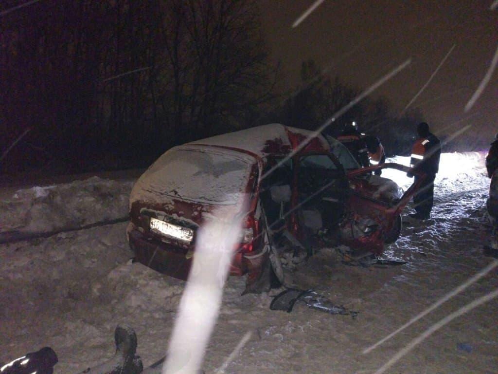Под Уфой произошло кошмарное столкновение, в ДТП погибли три человека
