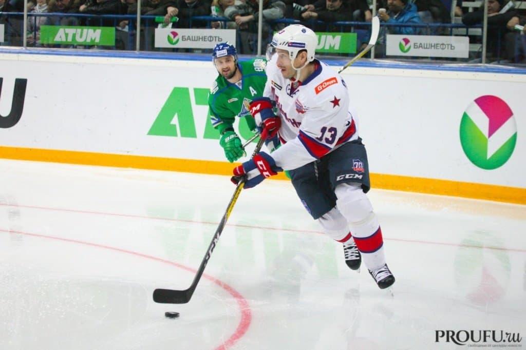 ЦСКА обыграл «Салават Юлаев», уфимцы потерпели девятое поражение подряд