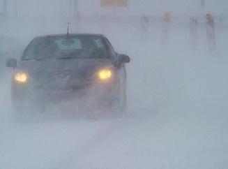 Автомобилистов призывают в непогоду быть внимательнее